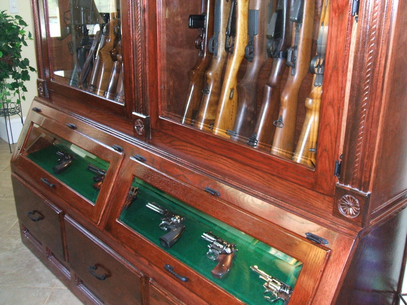 So you want a customized gun cabinet? (PIC heavy) - The Firing ...