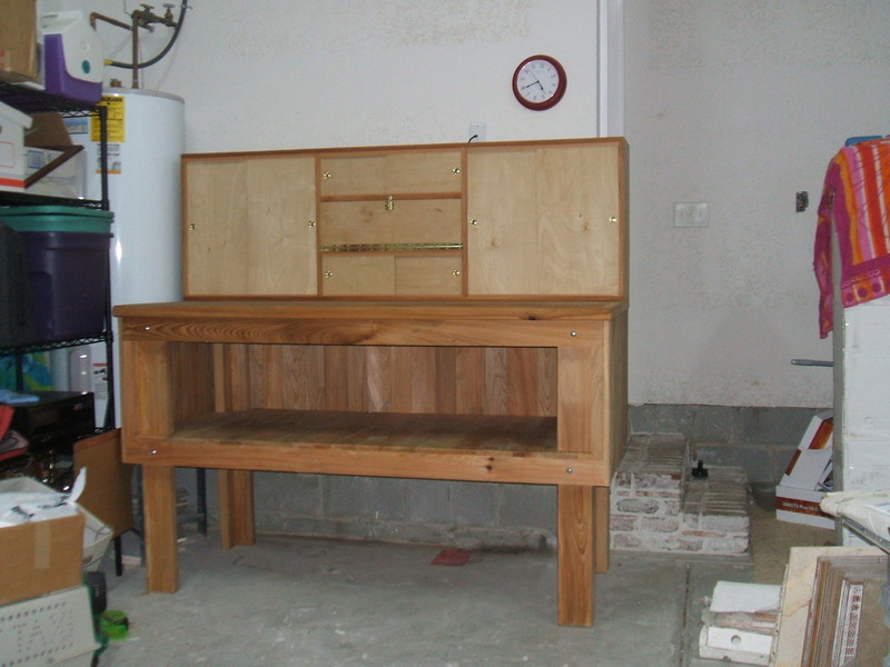 benedetina: Reloading Benches Plans