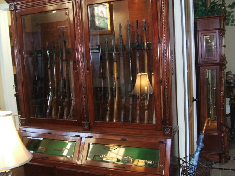 So You Want A Custom Gun Cabinet Pic Heavy